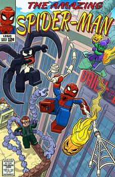 The Amazing LEGO Spider-Man Vs The Terrifying Trio