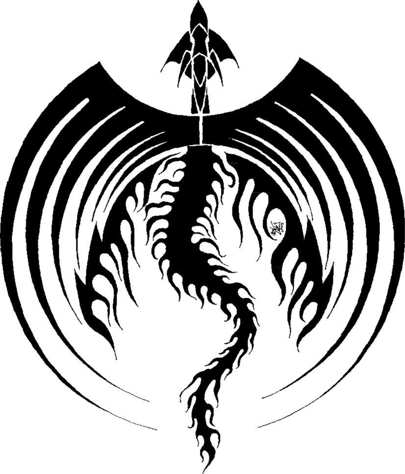 Black dragon icon symetric by flipwarddragon on deviantart black dragon icon symetric by flipwarddragon buycottarizona Gallery