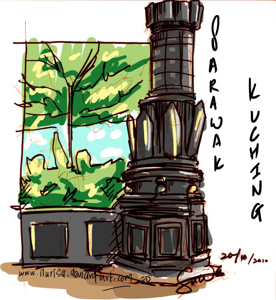 Kuching sarawak 2 by ilurisa on deviantart for Home wallpaper kuching