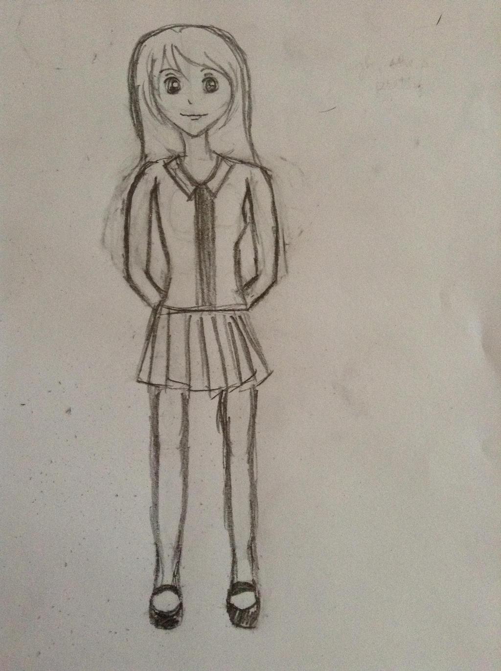 Anime Girl (full Body) (edited) By HotaruYoko On DeviantArt