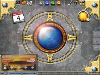 desktop by sanritan