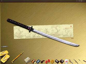 japanese inspired deskie by sanritan