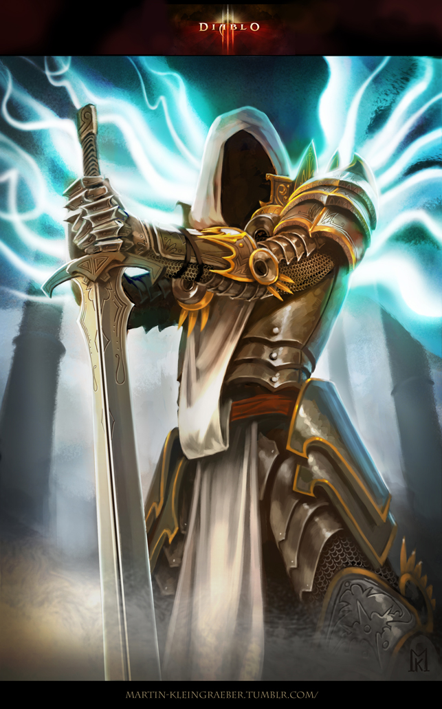 Diablo 3 Tyrael by MartinKl-art