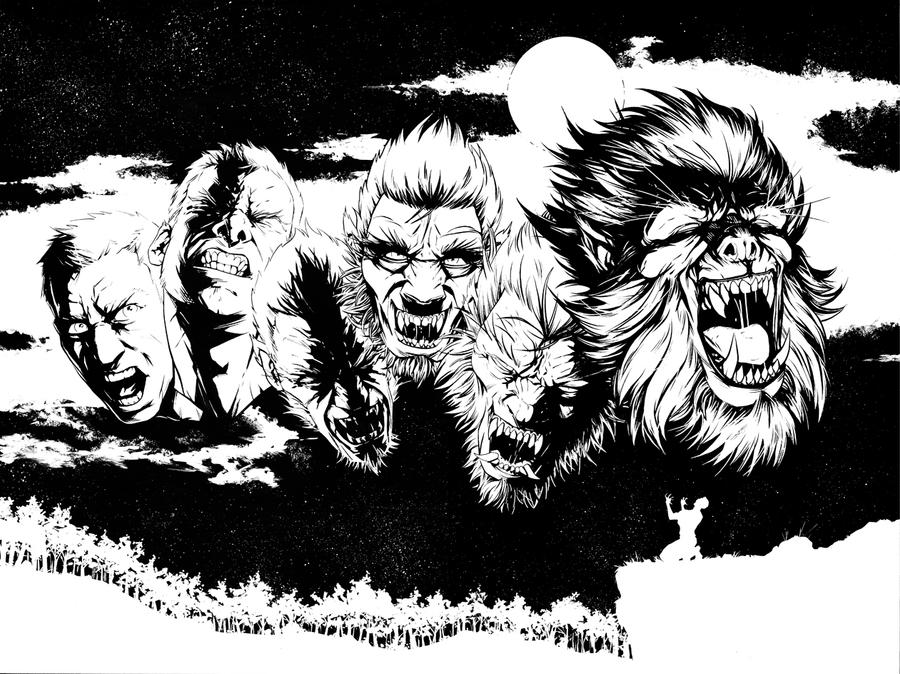 The Wolfman by HenrikJonsson