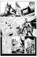 Batman Vs. Predator Page 2 by HenrikJonsson