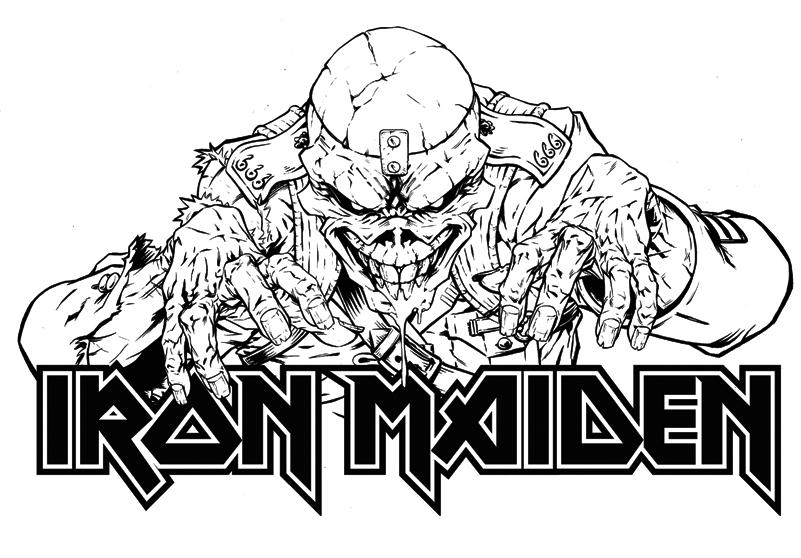 Eddie the Head - Iron Maiden by HenrikJonsson