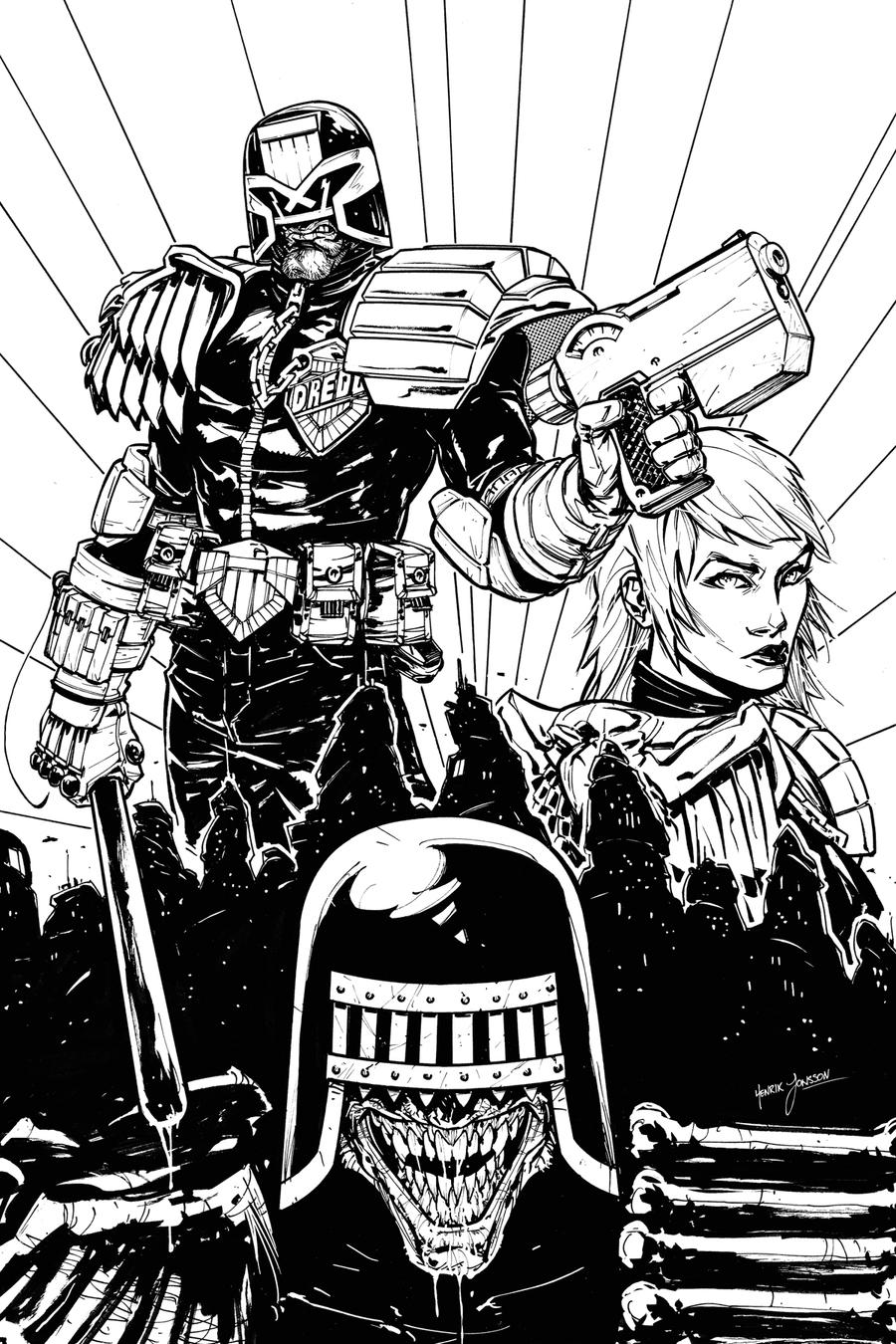 Dredd Vs. Death by HenrikJonsson