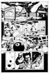 Wolverine - Bar Fight Scene page 1