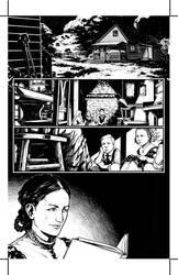 Frankenstein Page 1 by HenrikJonsson
