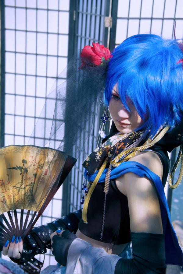 Kaito cosplay: Azrael by Seranaide