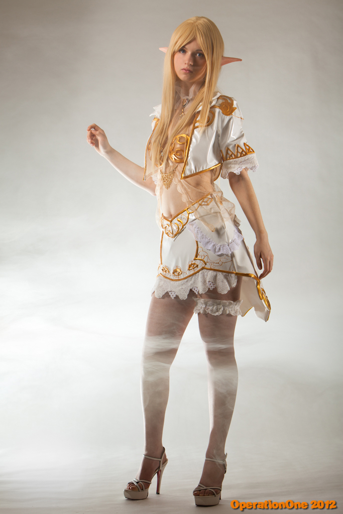 Lineage II throne elf (3) by Seranaide