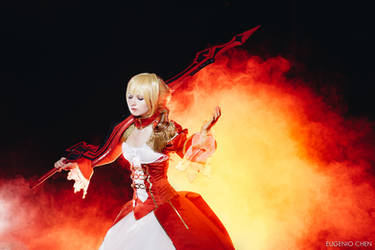 Saber Nero: Into the fire by Seranaide