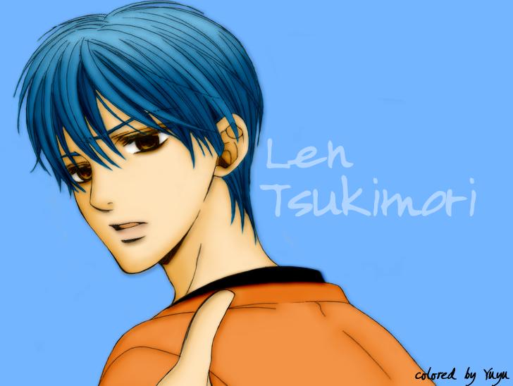 Len Tsukimori by LadyYuyu on DeviantArt  Len Tsukimori b...
