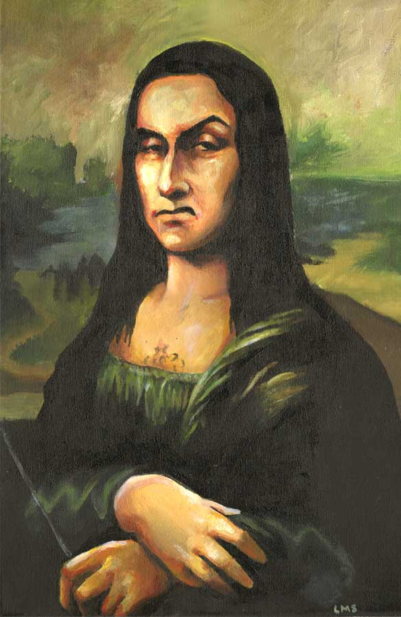 mona lisa the enigmatic meaning essay The mona lisa is quite possibly the most well-known piece of painted artwork in the entire world it was painted by the leonardo da vinci, the famous italian artist, between 1504 and 1519, and is a half body commission for a woman named lisa gherardini.