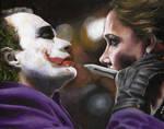 The Joker and Rachel Dawes