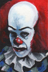 Pennywise the Clown by sullen-skrewt