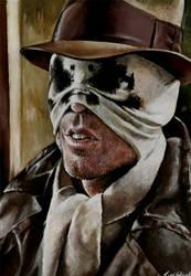 Rorschach half mask