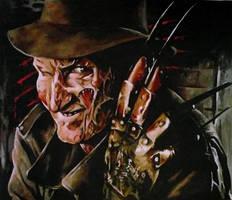 Freddy Krueger by sullen-skrewt