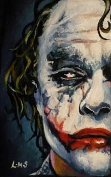 half a Joker ACEO