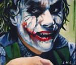 Joker side glance ACEO