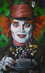 The Mad Hatter by sullen-skrewt