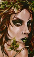 Poison Ivy ACEO