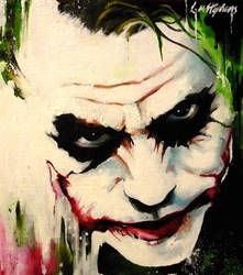 Joker abstract by sullen-skrewt
