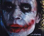 Joker unmasked ACEO