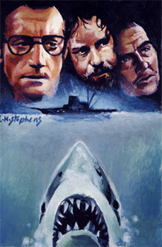 Jaws ACEO by sullen-skrewt