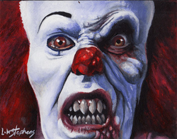 Pennywise the Dancing Clown by sullen-skrewt