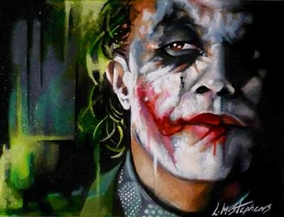 Joker Interrogates by sullen-skrewt