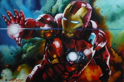 Iron Man by sullen-skrewt