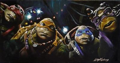 Teenage mutant ninja turtles group by sullen-skrewt