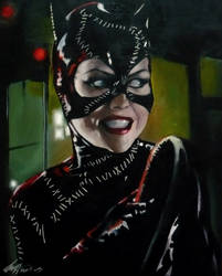 Catwoman and whip