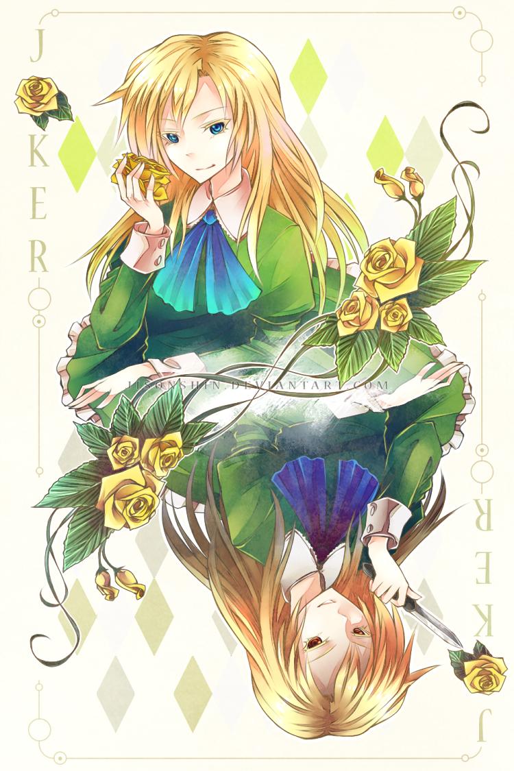 Ib: Joker Mary by Jisonshin