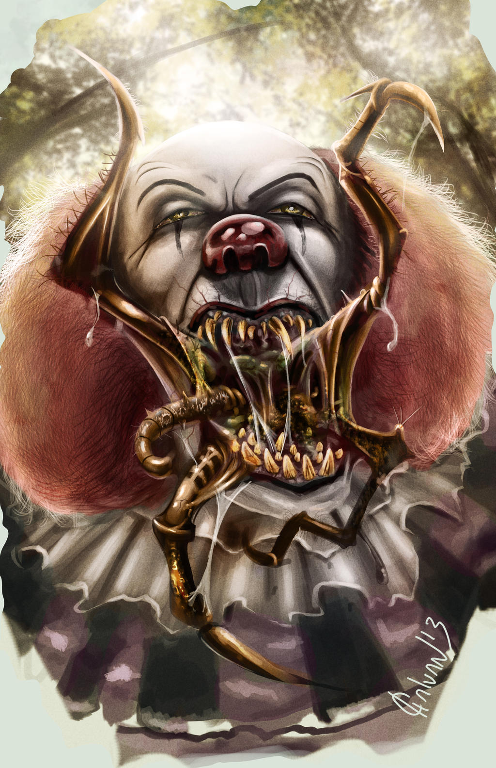 Pennywise by JoseGalvan on DeviantArt