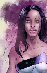 Jewel AKA Jessica Jones by JoseGalvan