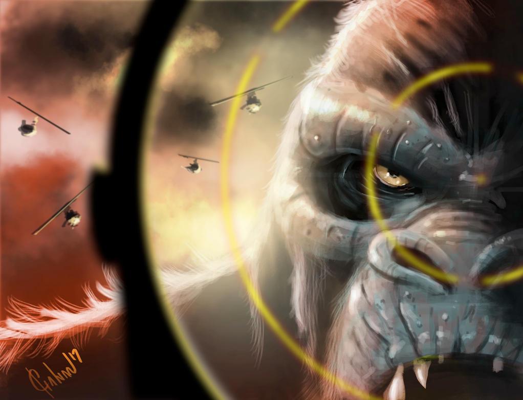 Kong by JoseGalvan