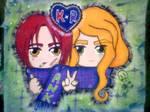 Ai No Kusabi - KatzexRaoul with love by madame-green