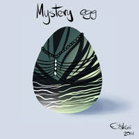 Mystery Egg Adoptable #2 CLOSED by EtskuniArt