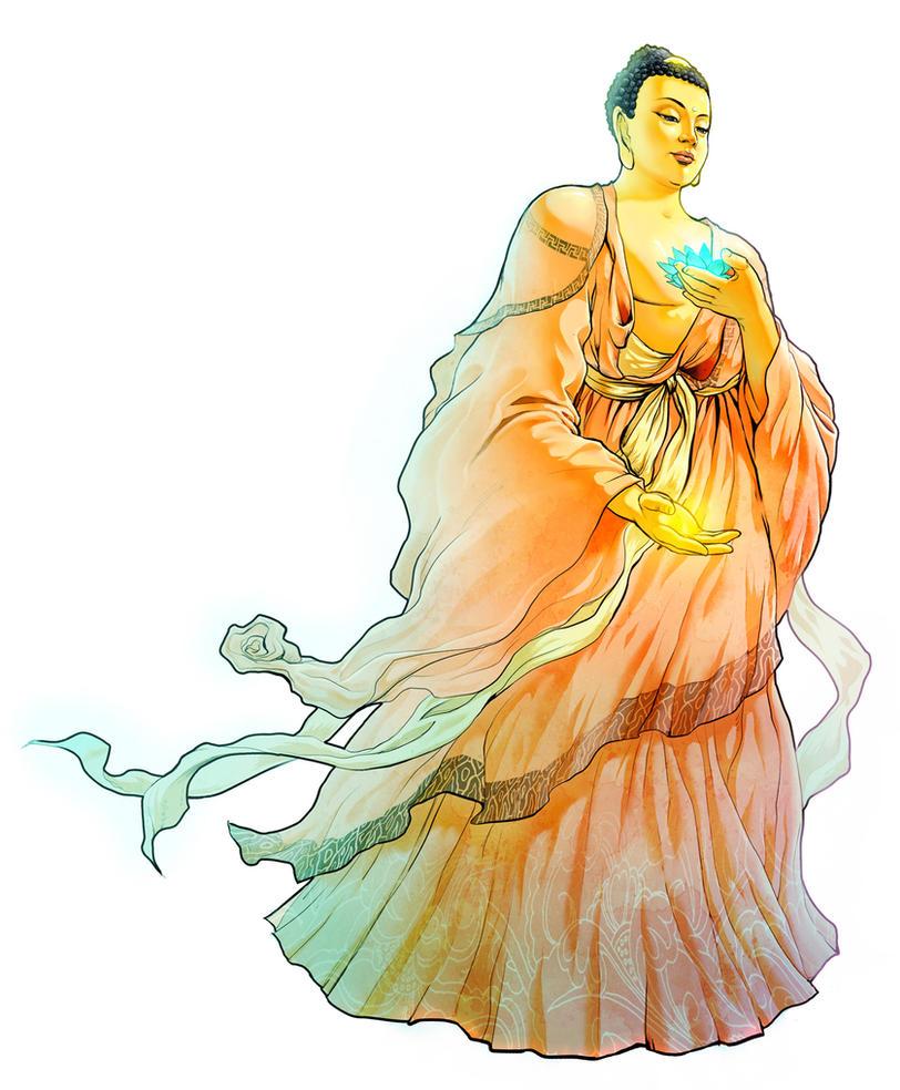 Buddha by wang2dog
