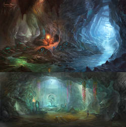 Crystal Mine by wang2dog