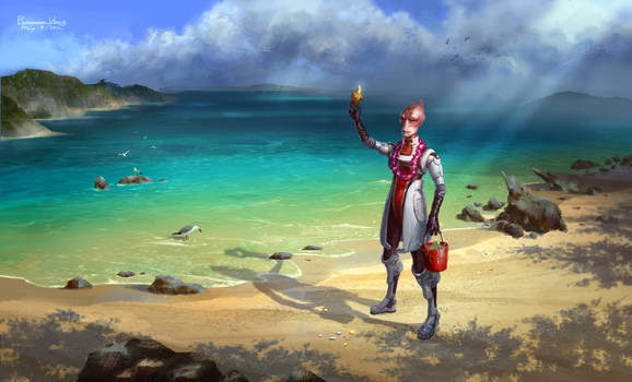 Mordin the Great Marine Biologist