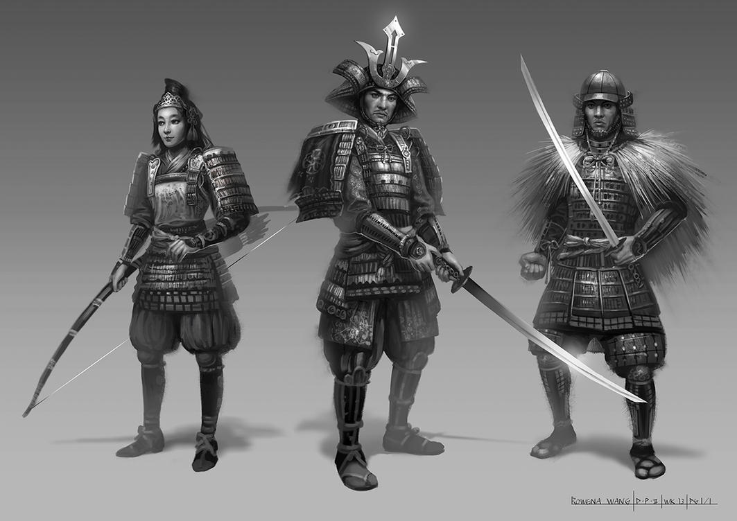 Samurai by wang2dog