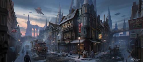 C.O.T: Quiet Town by wang2dog