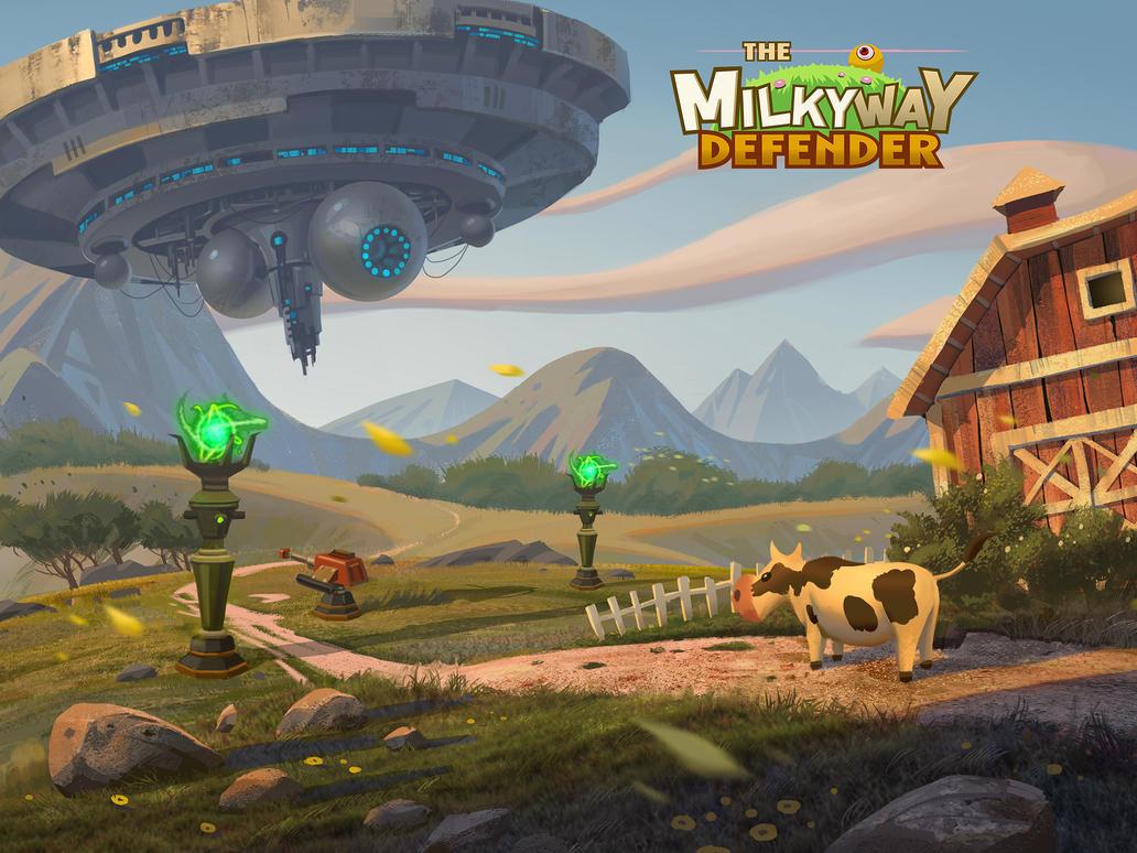 Alien Take Farm by wang2dog