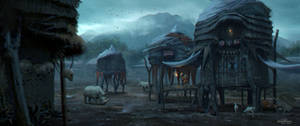 C.O.T: The Goblin Village by wang2dog