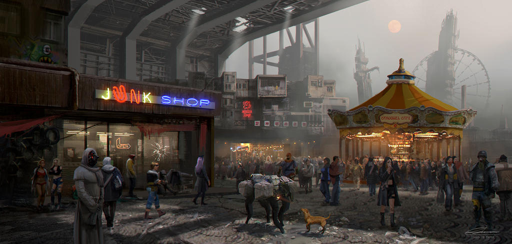 Joy City by wang2dog