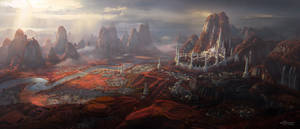 C.O.T: The Elven Empire Capital City - Silver Arch