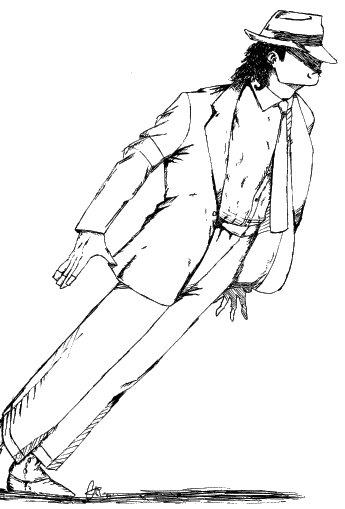 How To Smooth Drawing Lines In Photo : Smooth criminal michael jackson by mrtoon on deviantart
